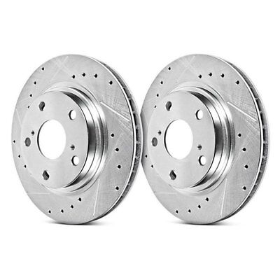 For BMW 650i xDrive Gran Coupe 13-19 Brake Rotors Power Stop Evolution