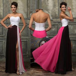 NUEVO-de-mujer-largo-Celebrity-Noche-Fiesta-Formal-Vestido-Graduacion-Dama-Honor