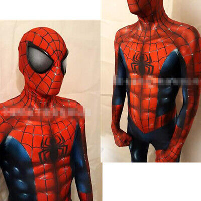 Ultimate Spider-man Cosplay Costume Spiderman Zentai Suit Halloween for Adult - Spider Costumes For Adults