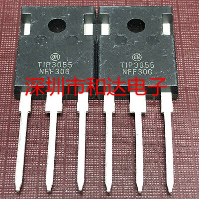 5 X Tip3055 Power Transistors To-247 60v 85a