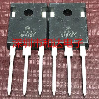 5 X Tip3055 Power Transistors To-247 60v 85a