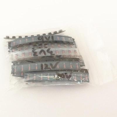 1 Package 220pcs 22 Values Zmm Series 3v-51v 0.5w Zener Diode Assortment Kit