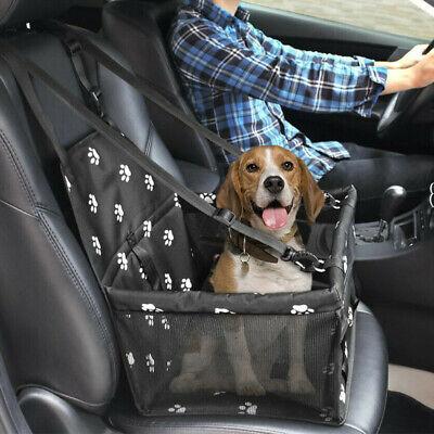 US Pets Car Seat Belt Booster Travel Carrier Folding Bag for Dog Cat Puppy BLACK Car Seat Carrier Bag