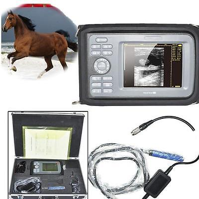 Fda Veterinary Ultrasound Scanner Animals Rectal Probe Cows Horses Livestock Dog