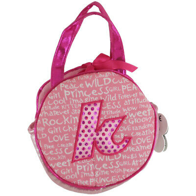 Aurora World Plush - Initials Pet Carriers - Letter K - Toy Purse -
