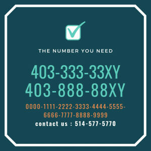 403 Calgary vanity vip rare premium phone number for sale