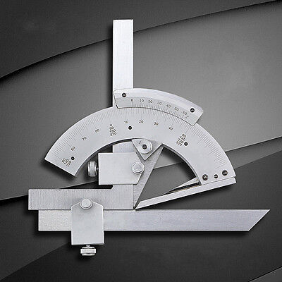 320 Degree Universal Bevel Protractor Angular Dial Measuring Innerouter Angle