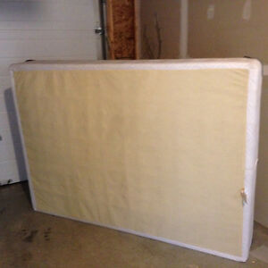 Lightly used double boxspring
