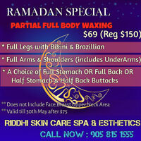 Facial 37,P Full body wax 70,Massage 49$/hour,Full Body Scrub 50