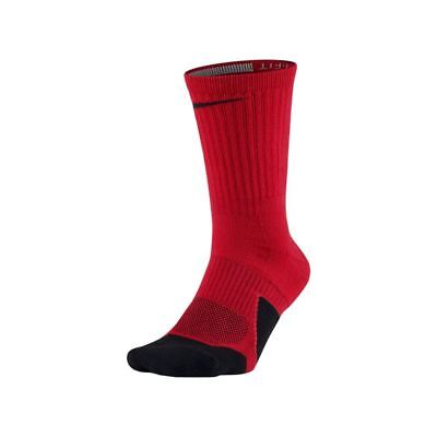 buy online 61525 dc053 Nike DRY ELITE 1.5 CUSHIONED CREW Basketball Socks SX5593-657 Size M (6-8)