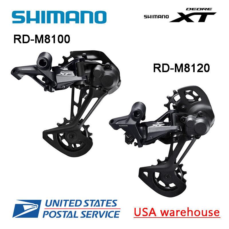 Shimano XT RD-M8100 RD-M8120 SGS 12 Speed Rear Derailleur Long Cage MTB (OE)