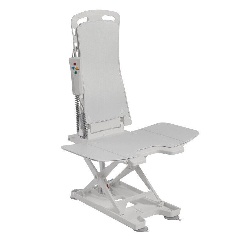 Drive Medical Bellavita Tub Chair Seat Auto Bath Lift, White