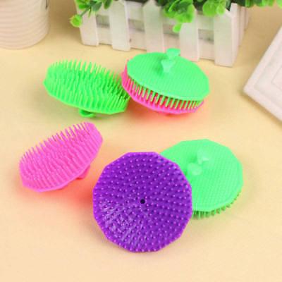 1PC Random Shampoo Scalp Shower Body Washing Hair Massage Massager Brush Comb