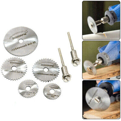 Mini Rotary Cutter (Rotary Cutter Mini Hss Circular Saw Disc Blades Mandrel For Hobby Drill Durable)