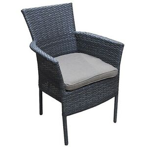 DOT FURNITURE BARRIE STACKING WICKER ARMCHAIR ON SALE