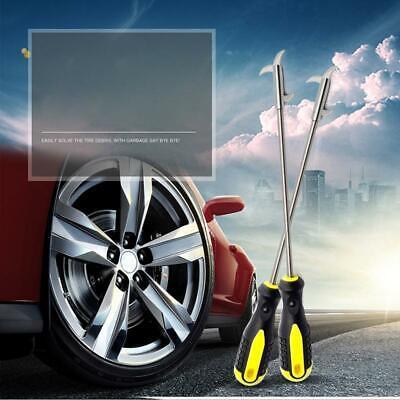 Car Tire Groove Kit Cleaning Hook Wheel Tread Slot Gravel Remover Universal LA Universal Groove Kit