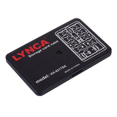 Memory Card Storage Case Holder 16 Slots Micro SD TF SIM Nano Carrying Pouch Box
