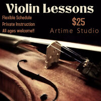 Violin Lessons - Register here - Limited time offer!