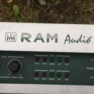 POWER AMP RAM AUDIO BUX 2.8 PROVENANCE RED LIGHT West Island Greater Montréal image 4