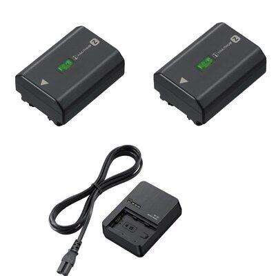2pcs NP-FZ100 + BC-QZ1 battery for sony ILCE-9 A9 A7RM3 A7RIII A7R3...