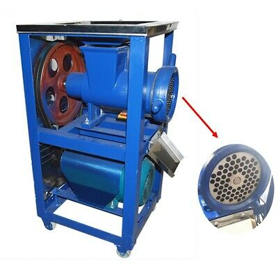 Bone Crusher Meatchicken Feed Processer Electric 220v Steel Rack Wextra Cutter