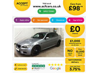 Grey BMW M3 4.0 DCT 2010 M3 FROM £98 PER WEEK!