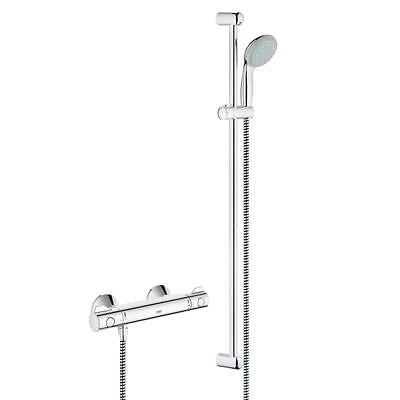 Grohe Grohtherm 800 Thermostat Dusche Brausebatterie Armatur 900mm 34566 000