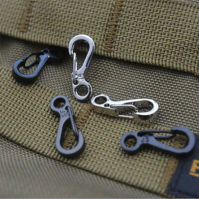 5 pcs Spring SF Hooks Carabiner Key Chain Keychain Clip Hook Outdoor Buckle NA