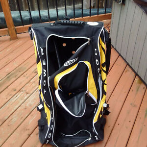 Yellow GRIT Rolling Hockey Bag