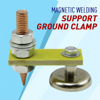 Metal Welding Magnet Head Magnetic Welding Support Ground Clamp Without Tail