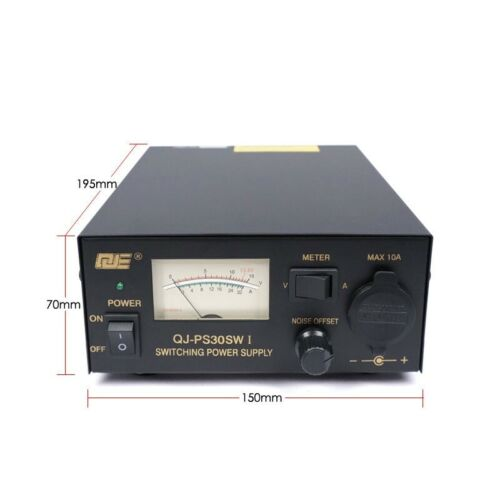 12V DC Amp Compact Power Supply Noise Control Ham Radio Switching Power Supply