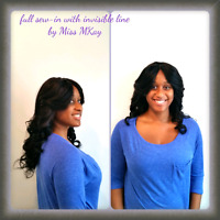 HAIR EXTENSIONS SERVICES .. LASALLE OR DOWNTOWN!!!!