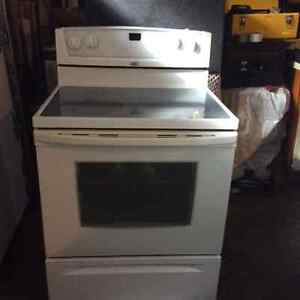 Whirlpool smooth top stove