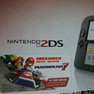 new in box nintendo 2DS with mario kart 7!