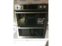 AEG Competence NC4013021M Intigrated Double Oven - Stainless Steel