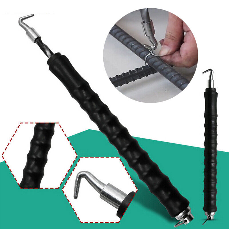 Schwarz Draht Driller Drillapparat Drillwerkzeug Ösendraht Betonbindedraht
