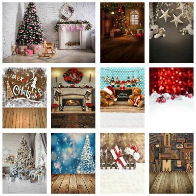 2018 Xmas Cloth Photo Backdrops Merry Christmas Photography Background Kid Props](Christmas Props Photography)
