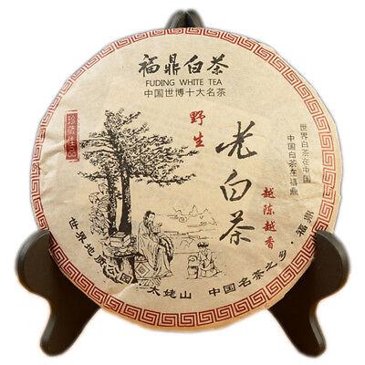 Chinese Gong Mei Fuding Shoumei Tea Bai Cha Wild Old White Tea Cake 350g Chinese White Tea
