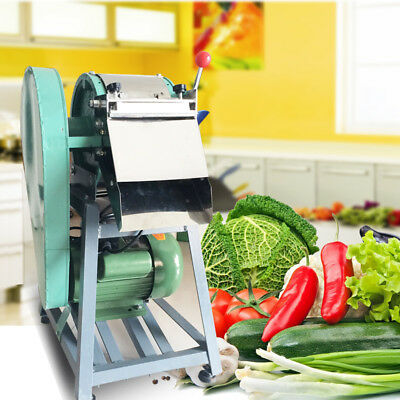 220V Adjustable Commercial Fruit Potato Carrots Slicer Vegetable Processing Devi