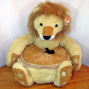New My Lucky Dog BedPals Roar The Lion Pet Bed & Car Safety Bed