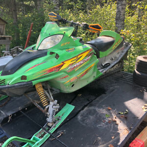 Arctic Cat and Trailer Package
