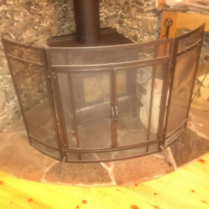 Woodstove or Fireplace Screen