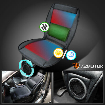 Cooling Fan Massager Heated Seat Cover Cushion with Remote Control