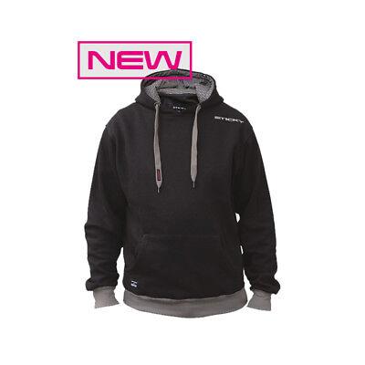 Sticky Baits Black Hoody *All Sizes* NEW Carp Fishing Clothing