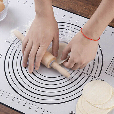 1PC Silicone Baking Mats Pizza Dough Non-slip Maker Holder Kitchen Gadgets Tools
