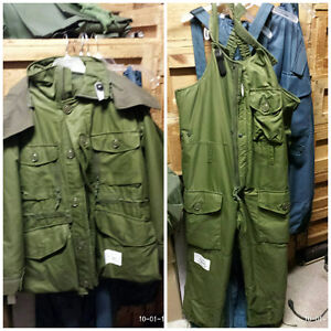 Military Surplus Winter Clothing Clearance Sale