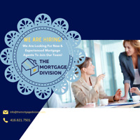 Hiring NEW and Experienced Mortgage Agents in Ontario!