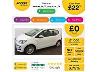 Volkswagen up! 1.0 ( 75ps ) 2013MY High Up FROM £22 PER WEEK!