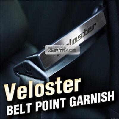 Interior Belt Point Garnish Hairline Metal Cover for HYUNDAI 13+ Veloster Turbo