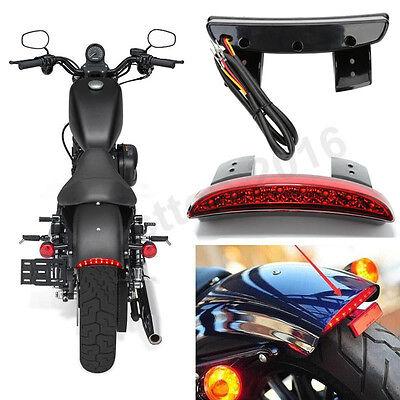 LED Brake Tail Light For Harley Street Bob / Sportster 1200 883 / Softail Slim